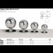 Pomelli sfera Ø20/25/30/35 POM01-02-03-04