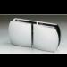 Morsetto serie 400 vetro/vetro in linea S4005