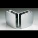 Morsetto serie 400 vetro/vetro 90° S4007
