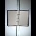 Cerniera 33 ribaltabile vetro/vetro - in linea CER33