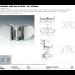 Cerniere libere 800 cerniera serie 800 in linea / 90° esterno SFH803