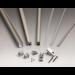 Pivot-up square cerniera pivot per pareti doccia - muro/vetro 6/8mm pivotup square 2010 PTUPSQ201