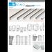 K romo profili in alluminio cromati in barre da 3 metri K-PROFALL