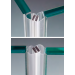 Guarnizione magnetica adesiva a 45° GMVHB1