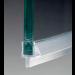 Guarnizione con diga e gocciolatoio ad aletta per vetri 6/8 mm GM56