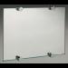 Distanziatore per specchi tondo senza fori nel vetro in ottone PATA46