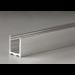 """Profilo fisso inferiore ad """"u"""" in alluminio LMU20"""