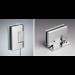 Cerniera laterale serie hd square small regolabile per vetri 6/8 mm DQ30