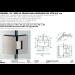 Cerniera 135° serie hd square small regolabile per vetri 6/8 mm DQ3135