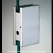 Cartella di riscontro per chiusure serie hd square small per vetri 6/8 mm DQC395
