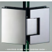 Cerniera 135° serie hd square regolabile per vetri 8/12 mm DQ4135
