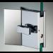 Chiusura con pomello/pomello serie hd square con maniglia per vetri 10/12 mm DQC575