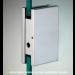 Cartella di riscontro per chiusure serie hd square per vetri 10/12 mm DQC61