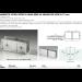 Morsetto vetro/vetro in linea serie hd square per vetri 6/12 mm DQM45