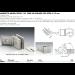 Morsetto muro/vetro 135° serie hd square per vetri 6/12 mm DQM54