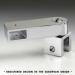 Prolunga passante laterale con morsetto snodato serie hd square DQA90