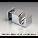 Appendiabiti attacco vetro serie hd square DQP385
