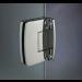 Cerniera con copertina serie hd small regolabile centrale per vetri 6/8 mm CHD12