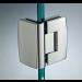 Cerniera con copertina serie hd small regolabile 90° per vetri 6/8 mm CHD190