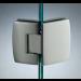 Cerniera con copertina serie hd small regolabile 135° per vetri 6/8 mm CHD1135