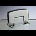 Cerniera con copertina serie hd regolabile centrale per vetri 8/10 mm CHD22