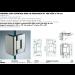 Cerniera con copertina serie hd regolabile 90° per vetri 8/10 mm CHD290