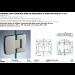 Cerniera con copertina serie hd regolabile in linea per vetri 8/10 mm CHD280