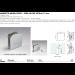 Morsetto muro/vetro 1 serie hd per vetri 6/12 mm CHDM41