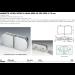 Morsetto vetro/vetro in linea serie hd per vetri 6/12 mm CHDM45