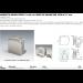 Morsetto muro/vetro 51x45 mm serie hd square per vetri 6/12 mm CHDM57