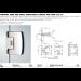 Cerniera serie 400 small regolabile laterale per vetri 6/8 mm S150