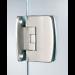 Cerniera serie 400 small regolabile centrale per vetri 6/8 mm S153