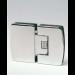Cerniera serie 400 small regolabile vetro/vetro in linea per vetri 6/8 mm S1180