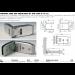 Cerniera serie 600 regolabile 90° per vetri 8/12 mm S690