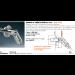 Kit tirante con perno di collegamento Pensilina Glass Canopy GC-PERN155-355