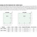 Kit tirante con perno di collegamento e attacchi a parete Pensilina Glass Canopy GC-PEROUT155-355
