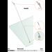 Kit tirante Pensilina Glass Canopy Light GC-SNOD15