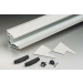 Kit per pensilina a sbalzo senza tiranti per lastre in vetro senza lavorazioni La Pensilina PENKIT10-30