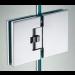 Cerniera in linea vetro/vetro automatica square DQMATIQUE680-480