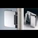 Cerniera verticale per stipiti in ottone CER148