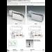 Cerniere per stipiti da inserire su pivot di 10 mm CER175-CER160