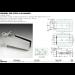 Cerniera per stipiti in alluminio squadrata CER4ALSQ