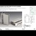 Cerniera per stipiti stretti in alluminio FA100