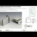 Cerniera per stipiti stretti in alluminio FA50
