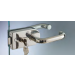 Serratura serie 120 small con serratura o pomolo girevole S1201