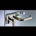Serratura serie 120 small per stipiti con serratura o pomolo girevole S1203