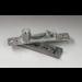 Cerniera superiore regolabile per porte in legno/metallo SX-PS01