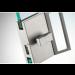 Chiusura di riservatezza serie hd square libero/occupato con maniglia ante scorrevoli DQS21