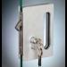 Serratura per scorrevoli sd600 con maniglia per trascinamento SERSD610