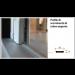 Profilo di scorrimento argento per Scenica® e Miniscenica® (1 battente)